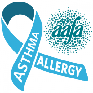 Asthma and Allergies Awareness Ribbon