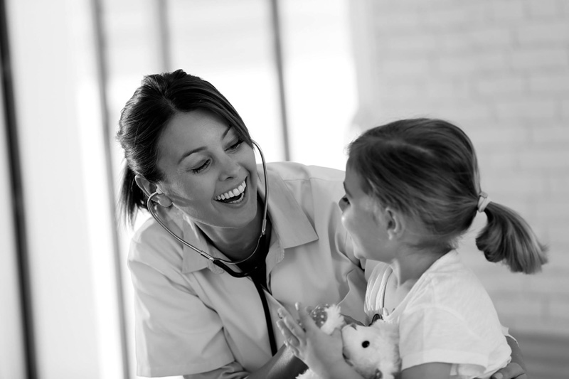 promptmd urgent care doctor and child